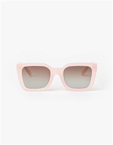 Stella + Gemma Audrey Polarised Sunglasses, Candy Floss