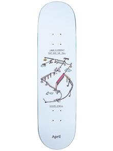 April Skateboards Shane O'Neill Perfect Flatbar, 8.25