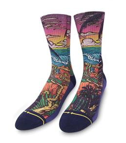 Merge4 Mens Shaun Logan - Slogan Jungle Paradise Mens Socks