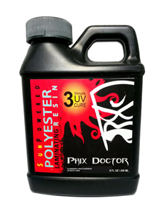 Phix Doctor Sunpowered Polyester Laminating Resin 240Ml