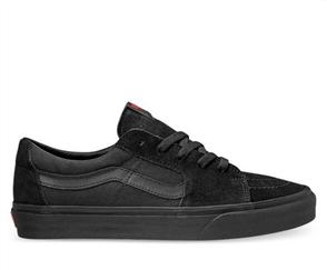 Vans SK8-LOW SHOE,  BLACK/BLACK