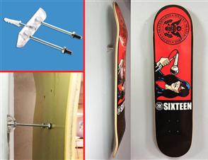 Unbranded Sk8ology Skateboard Display System