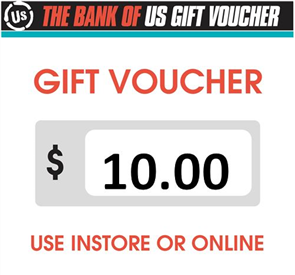US $10 Gift Voucher