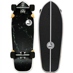 "SLIDE Joyful Marble Longboard Cruiser 30"" Surf Skateboard"