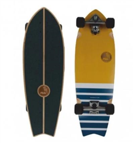 "SLIDE Fish Marajo 32"" Surf Skateboard"