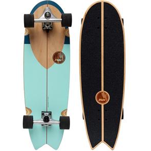 """SLIDE Swallow NoseRider 33"""" Surf Skateboard"""