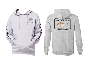 Salty Crew Snapper Mount Fleece, Athletic Heather