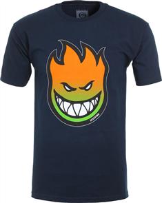 Spitfire BIGHEAD FADE FILL SHORT SLEEVE T-Shirt- Premium Print, Navy