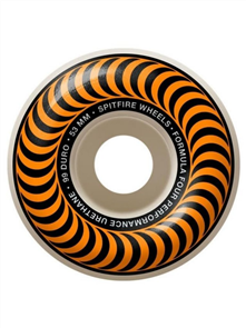 Spitfire WHEELS F4 99 CLASSIC ORANGE 53