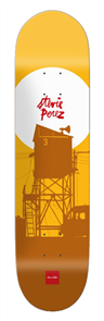 Chocolate Crailtap Sun Series Perez Deck Size 8.25