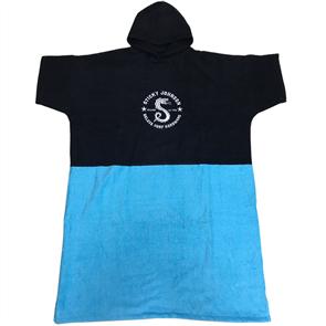Sticky Johnson Serpant Hooded Towel Adult, Black
