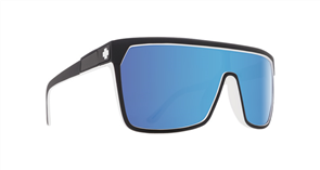 SPY Sunglasses Flynn  Whitewall - Happy Grey Green w/Light Blue Spectra