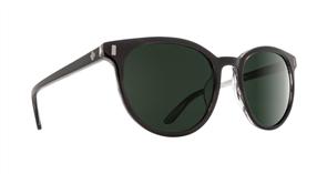 SPY Sunglasses Alcatraz  Black Horn - Happy Grey Green