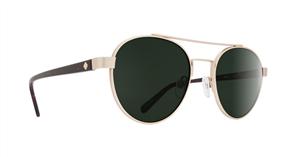 SPY Sunglasses Deco  Gold/Dark Tort - Happy Grey Green