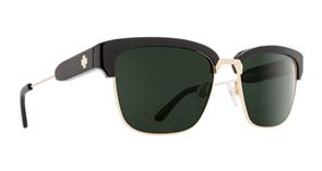 SPY Sunglasses Bellows  Black Gold - Happy Grey Green