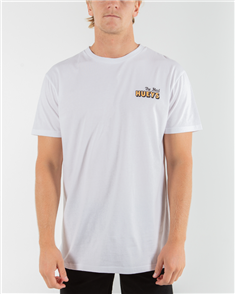The Mad Hueys SUMMERTIME SHORT SLEEVE TEE, WHITE