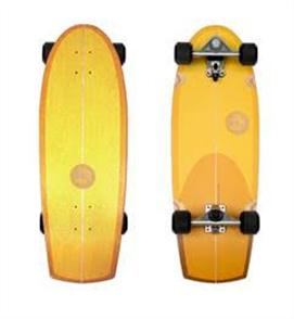 """SLIDE Sunset Longboard Cruiser 30"""" Surf Skateboard"""