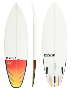 Pyzel Sure Thing Board with 5 Future Fins