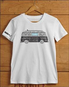 Moana Rd NZ Surfing T-Shirt, Grey Marl