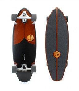 "SLIDE Diamond Single 32"" Surf Skateboard"