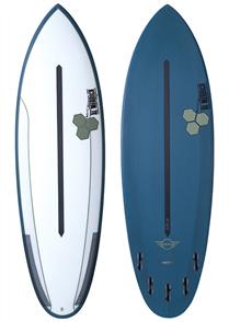 Channel Islands Mini Dual Core Surfboard, Blue Green