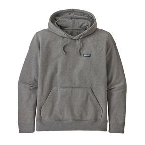 Patagonia M's P-6 Label Uprisal Hoody Sweatshirt, Gravel Heather