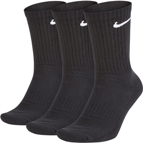 Nike Mens Everyday Cushion Crew Sock, 3 Pack