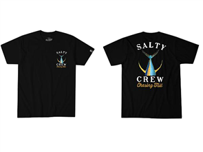 Salty Crew Tailed Short Sleeve Tee, Black