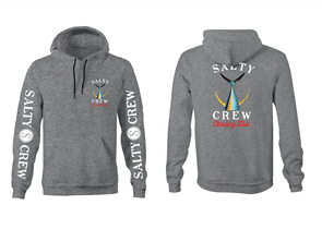 Salty Crew Tailed Hood Fleece, Gunmetal Grey