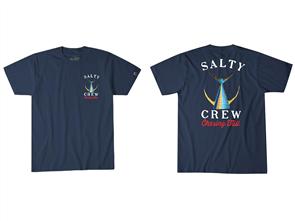 Salty Crew Tailed Short Sleeve Tee, Navy