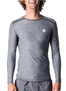 Rip Curl Tech Bomb Long Sleeve Uv Tee, 3481 Charcoal Marle