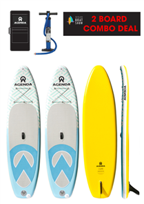 Agenda Tender 10'6 Two Board Combo