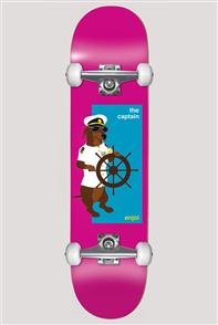 Enjoi The Captain Yth FP Skate Complete, Pink