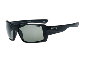 Liive The Edge Polarized Sunglasses, Matt Black