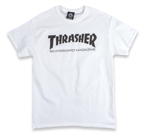 Thrasher Skate Mag Short Sleeve Tee, White