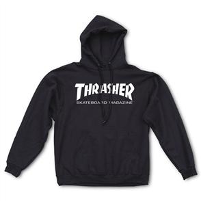 Thrasher Skate Mag Hood, Black