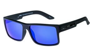 Liive Truth - Mirror Polarized Sunglasses, Matt Black