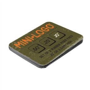 Mini Logo Riser Pads, Black