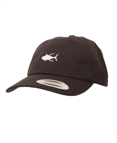 Salty Crew Tuna Dad Hat, Black