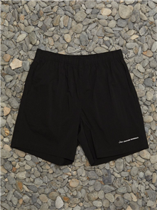 Just Another Fisherman TYPE LOGO SHORTS, BLACK