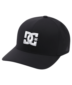 DC ELITE FLEX CAP, BLACK