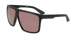 Dragon ULTRA SUNGLASSES, MATTE BLK/ LL ROSE GOLD ION