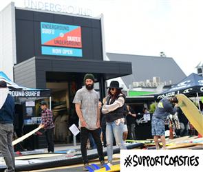 Support Coasties Underground Skate & Surf - Voucher choose your amount
