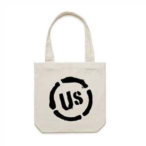 US ORIGINAL US TOTE BAG, WHITE