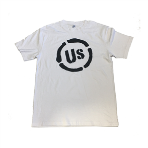 US ORIGINAL US LOGO MENS TEE, White