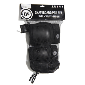 US Premium Knee Elbow Wrist Guards Pad Set