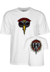 Powell Peralta Valley Elephant HO18 Tee, White