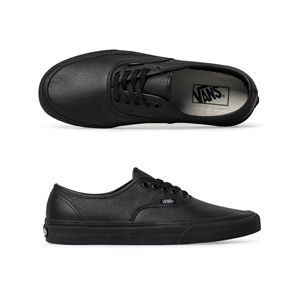 Vans Authentic Leather Shoes, Black