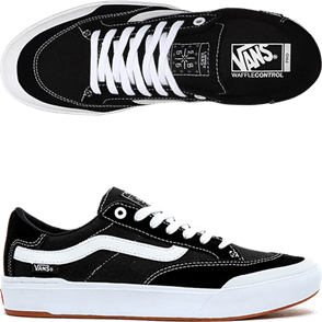 Vans BERLE PRO MENS SHOES,  BLACK/TRUE WHITE