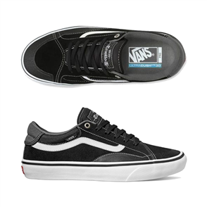 Vans Mens Tnt Advanced Prototype Shoes, Black White